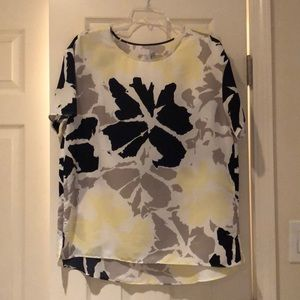 Conservatively Colorful polyester blouse